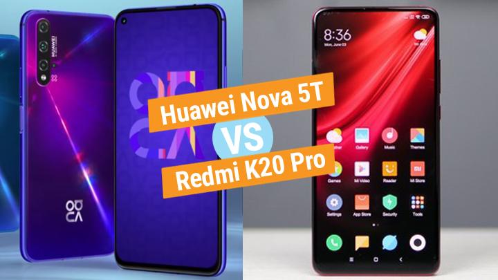 Huawei Nova 5T vs Redmi K20 Pro specs comparison - YugaTech