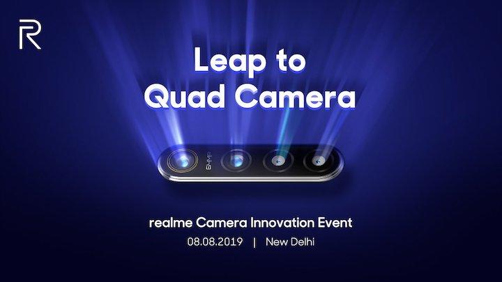 realme 64mp quad camera technology india