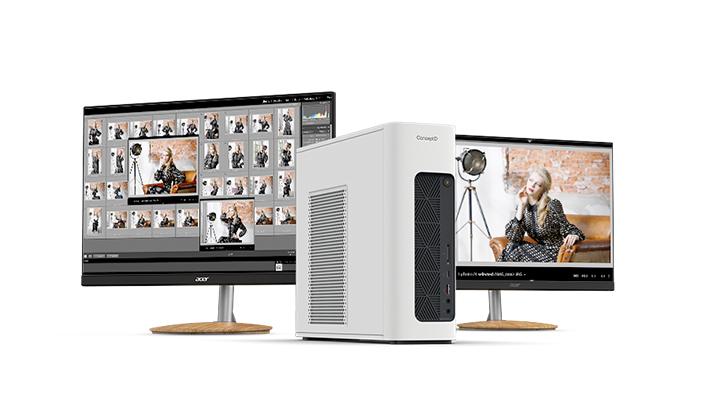 ConceptD CP5 CP3 monitors