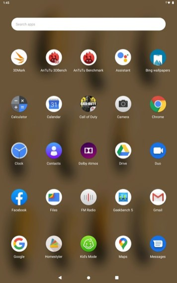 Lenovo Smart Tab M10 FHD Plus - Apps