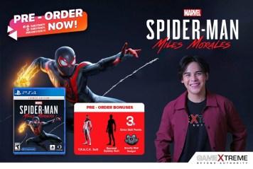 GameXtreme Spider-Man Miles Morales