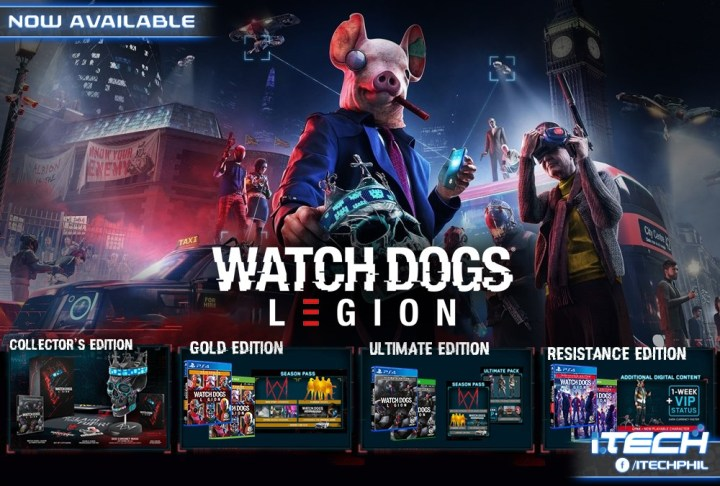 Watch Dogs Legion Ps4 Xbox One Now Available In The Philippines Yugatech Philippines Tech News Reviews
