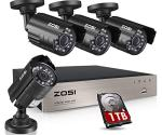 ZOSI 8CH Security Camera System
