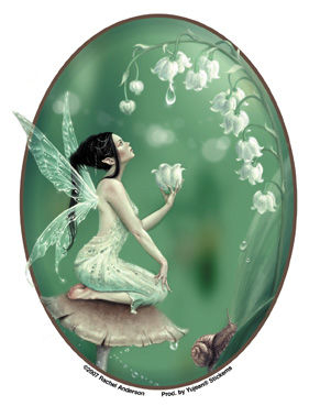 Lily Of The Valley Fairy Sticker