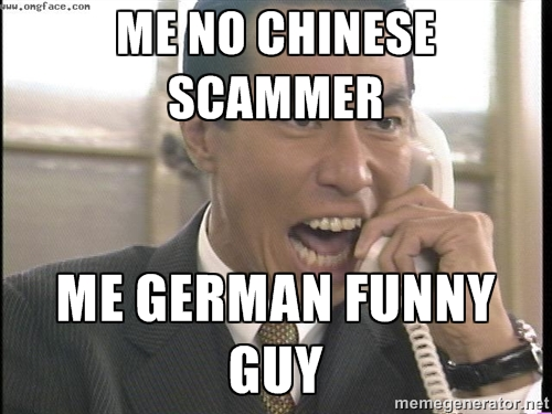 Chinese Scam