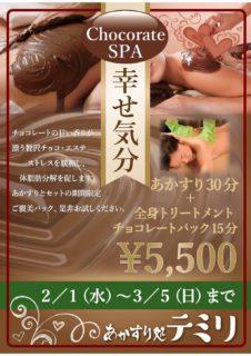 チョコレートパック