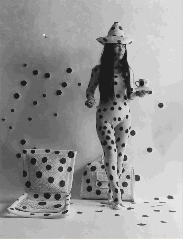 Self-Obliteration By Dots. 1968. Photo : © Hal Reiff