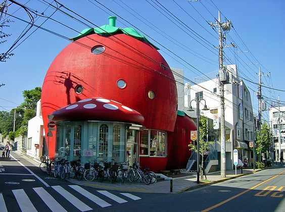 Strawberry tomato shop