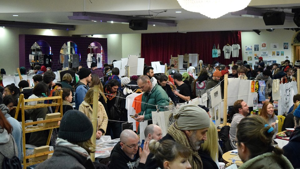 Hackney DIY Art Market