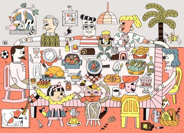Chi He illustrator
