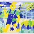 The Good Life art print by YUK FUN
