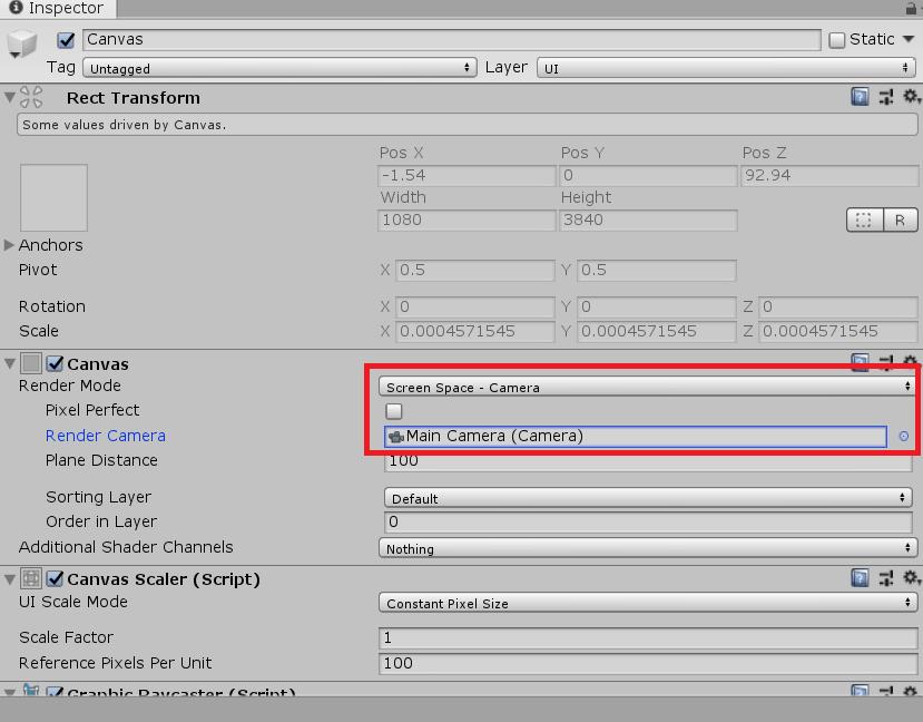 Unity内でlive2dのモデルを半透明化して表示する方法(Render Texture