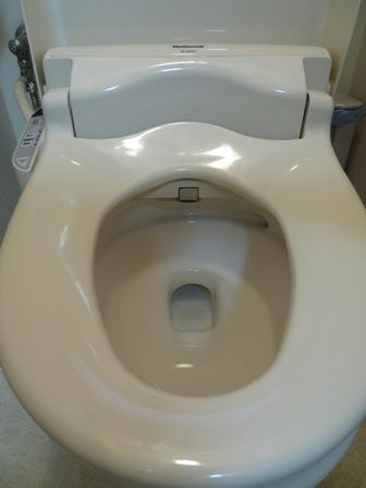 掃除には力を入れています、特にトイレは念入りに
