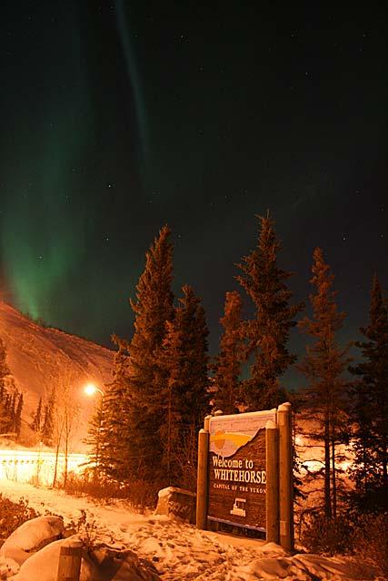Northern Lights Yukon Territory Alaska Northern British