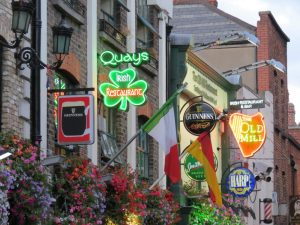 Voyage en Irlande et l'Écosse 1ère partie