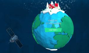Je suis prêt pour un voyage unique aujourd'hui, direction le Pôle Nord !!