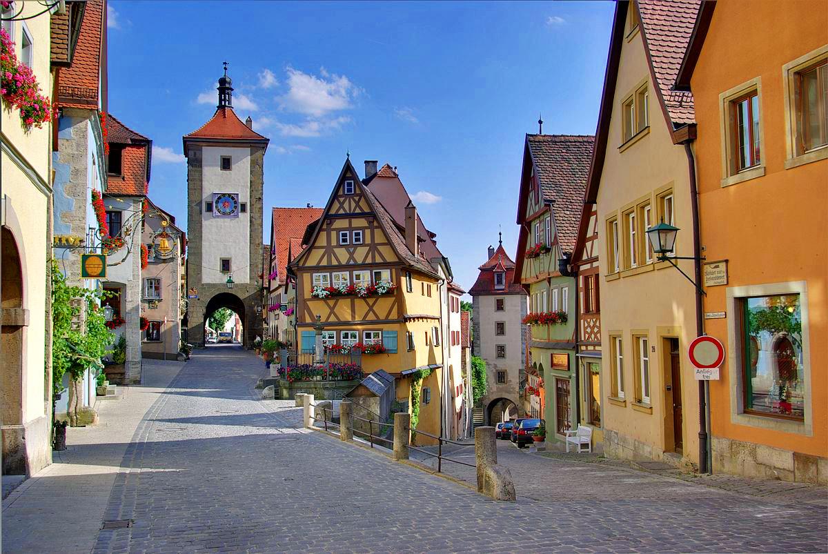 Les plus beaux endroits à visiter une fois dans sa vie: La ville médiévale de Rothenburg ob der Tauber en Allemagne
