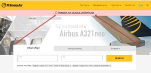 Rumeur de faillite chez Primera Air et nouvelles classes tarifaires chez Air Transat