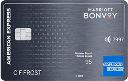 Carte Marriott BonvoyMC American Expressᴹᴰ