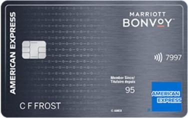 Carte Amex Bonvoy