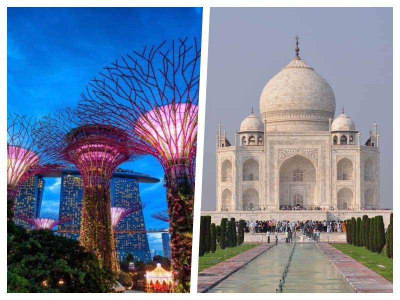 2 for 1! Fly from NYC to Singapore and New Delhi and back for only $400USD