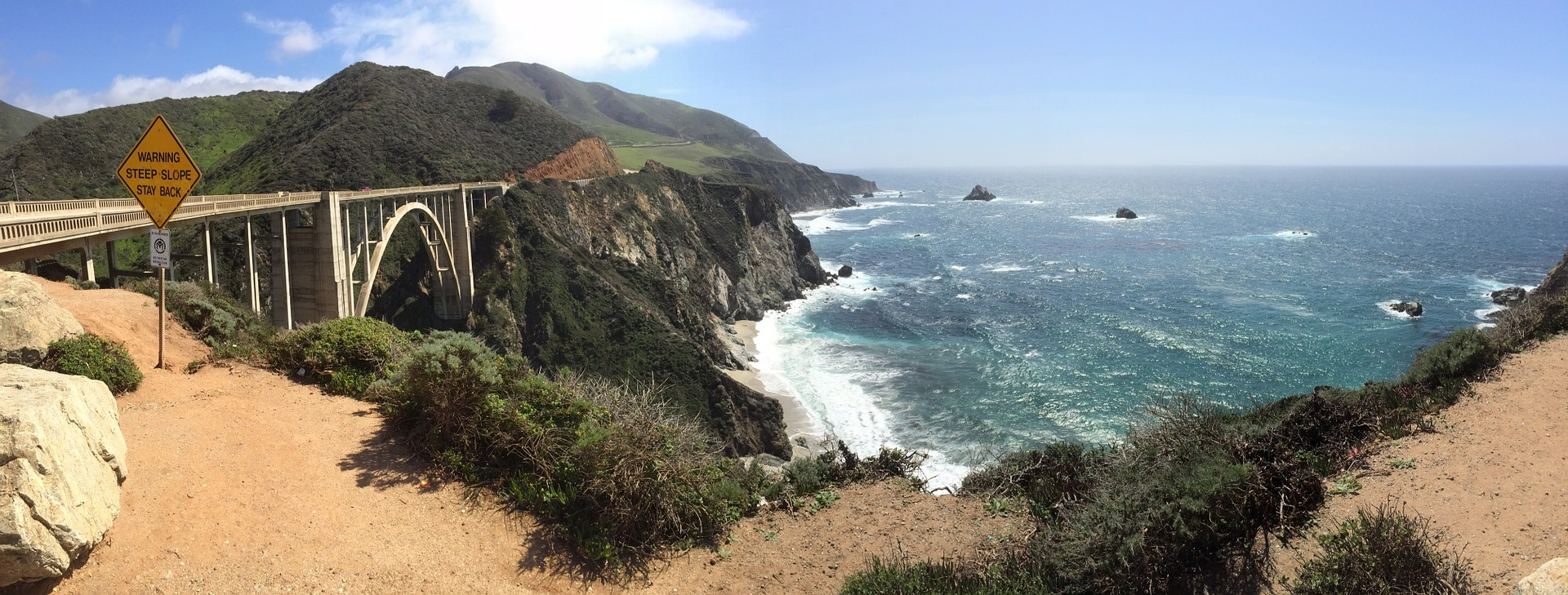 Road trip sur la mythique Highway 1 en Californie