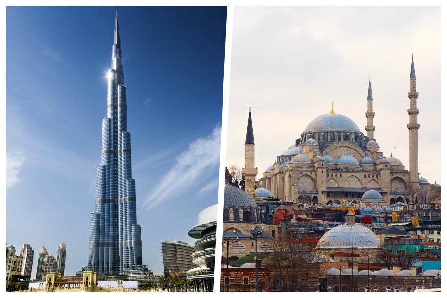 Read more about the article 2 pour 1: Envolez-vous vers Dubaï puis Istanbul et retour à Montréal à partir de seulement 709$
