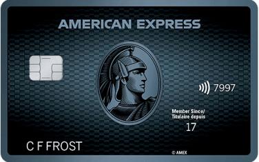 Carte CobaltMDAmericanExpress