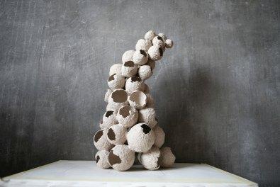 art, sculpture, paper
