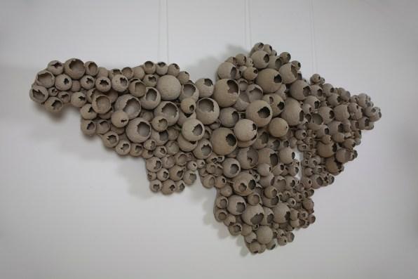 art, sculpture, paper, yulya yalanzhi, yalanzhi, panel