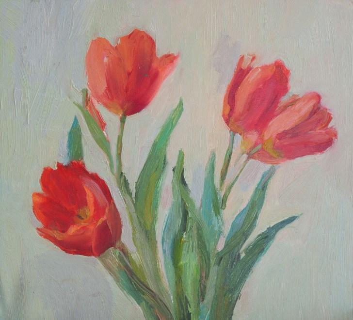 Tulips 40-35.5cm. 150 €