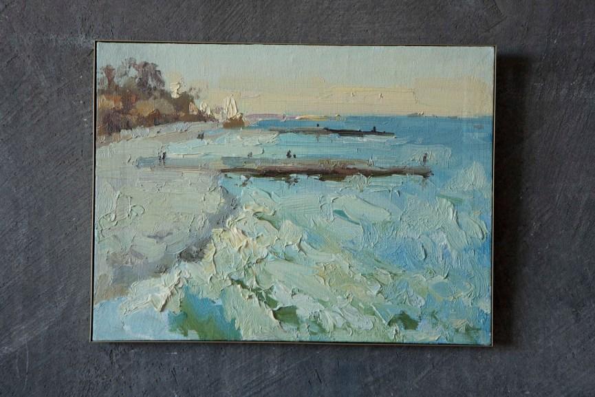 30*40 cm. oil on canvas. 300€