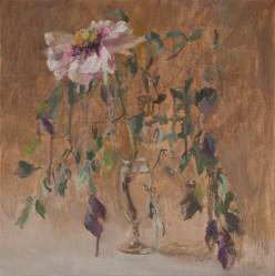 White peony, 40-40cm. oil on canvas. 300€