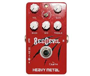 CP-30 Caline Red Devil Heavy Metal Distortion Guitar Pedal