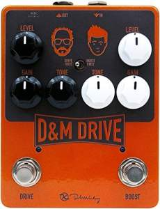 Keeley D&M Drive Overdrive Pedal