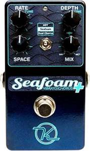 Keeley Seaform Plus Chorus Pedal - Boutique Guitar Stomp Box Effect