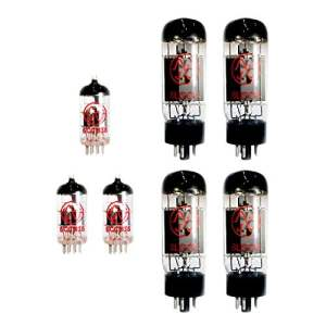 guitar amp repair tubes For MARSHALL JCM900 SERIES 4100 DUAL REVERB amplifiers that use FOUR 6L6 AND THREE ECC83 (12AX7) VALVES