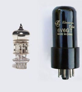 Replacement Valve Kit for Fender Champ guitar amps - Tube Sets to Repair Fender Guitar Amps