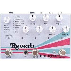 Empress Effects Multi Reverb Machine Pedal Guitar Effects Stomp Box