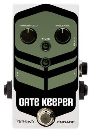 Pigtronix Gatekeeper High Speed Noise Gate  Guitar Pedal
