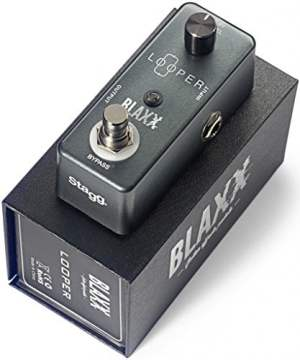 Stagg Blaxx Looper Pedal For Electric and Bass Guitars