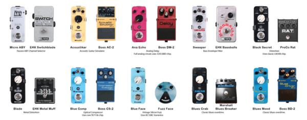 Guides to Guitar Effect Pedal Use and Technology Explained - Mooer Guitar Effect Pedals