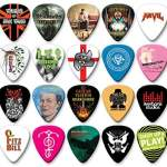 Custom Printed Guitar Picks Personalised Customised Celluloid Plectrums