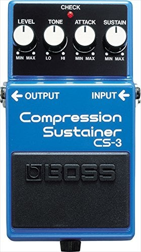 Boss Cs-3 Compressor and Sustain Pedal - Guitar Effec t Pedal Stomp Box