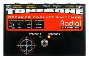 Tonebone Cabbone Guitar Effects Switcher - Black