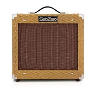SubZero Tweed V35RG Tube Guitar Amp Combo