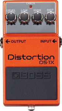 Boss DS-1X Distortion Special Edition Electric Guitar Effects Pedal