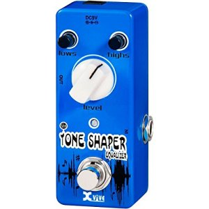 XVive XVV15 Tone Shaper Micro Guitar Effects Pedal for Bass or Guitar - Guitar Effect Stomp Box