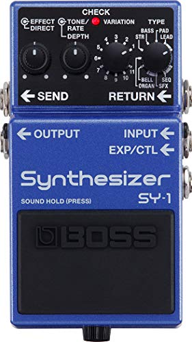 Video Review : BOSS SY-1 Synthesiser Guitar Pedal, StompBox