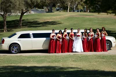 Limos and Car rentals for Yuma Weddings